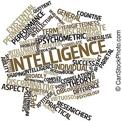 Word cloud for Intelligence - Abstract word cloud for...