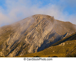 Alpine view in New Zealand