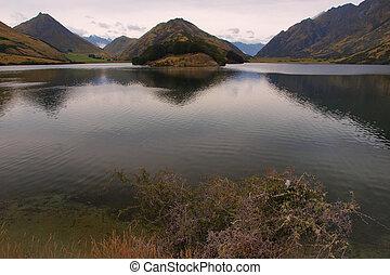 Mountain Moke lake view