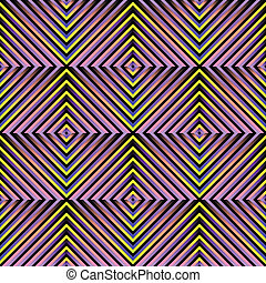 abstract seamless pattern - abstract geometric optical...