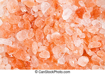 himalayan pink salt  - pattern of himalayan pink salt
