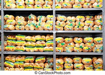 Packaged bakery products