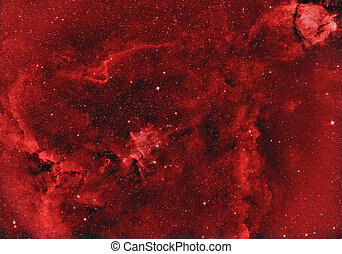 IC1805 Heart Nebula - emission nebula