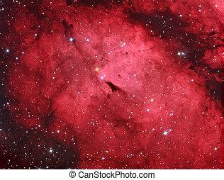 IC1318 Gamma cygni nebula - diffuse emission nebula...