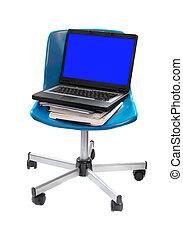 學校, 電腦, 椅子
