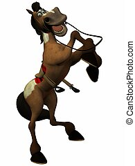 Toon Horse - 3D Render of an Toon Horse