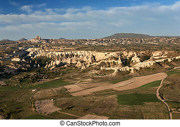 Turkey, Cappadocia, the view from the balloon