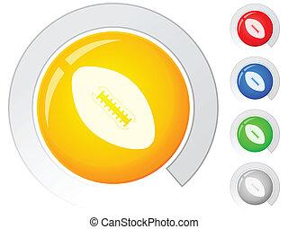 buttons football