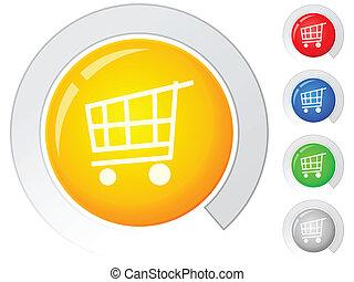 buttons shopping cart