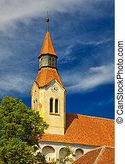 Bunesti Fortified Church Belfry