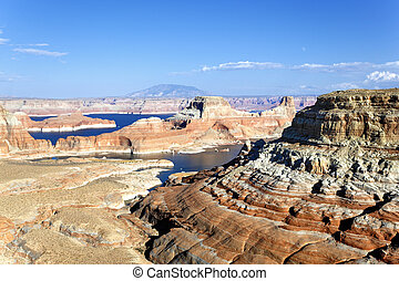 landscape of the lake Powell,