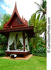 pavilion - traditional Thai pavilion for massage