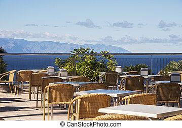 terrace at sea