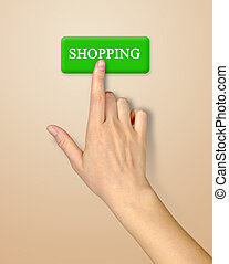 Button for shopping