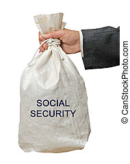 Giving social security