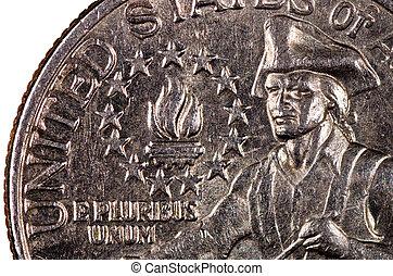 estados, unido,  América, moneda