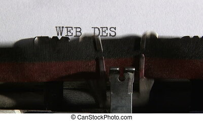 Typewriter, Web - 3 clips