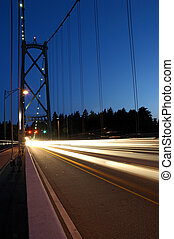 Lions Gate Bridge - The Lions Gate Bridge in Vancouver...