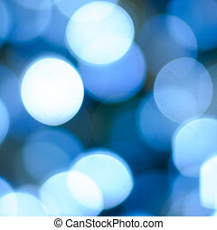Magical Lights - Blurry pattern of colorful decoration...