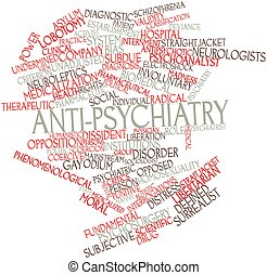 Word cloud for Anti-psychiatry - Abstract word cloud for...