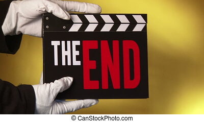Clapper - The End - Clapboard, The End, Cinematography,...