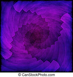 Spiral abstract violet background or texture