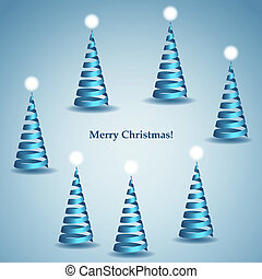 helix christmas trees