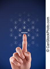 Crowdsourcing concept - Looking for a solution with...