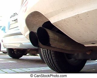 Exhaust pipe - Car exhaust pipe