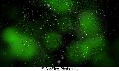 Festive Christmas Green Loop - Seamless loop features...