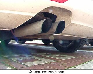 Car exhaust pipe Original sun glares