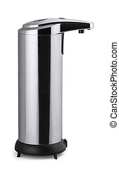 Soap dispenser - Automatic stainless steel soap dispenser...
