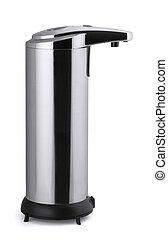 Soap dispenser - Automatic stainless steel soap dispenser...