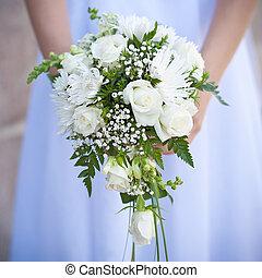 bouquet of wedding flowers - nice bouquet of wedding flowers