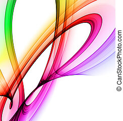 Rainbow abstract - Abstract background with rainbow colours