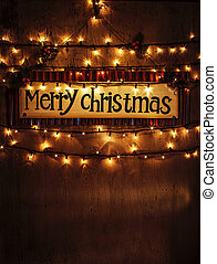 Christmas home decoration - Image of beautiful Christmastime...