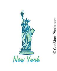 Statue Of Liberty - Symbol of New York City
