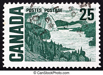 Postage stamp Canada 1967 The Solemn Land, by MacDonald -...