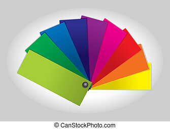 Color Swatch Book illustration