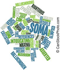 Soma - Abstract word cloud for Soma with related tags and...