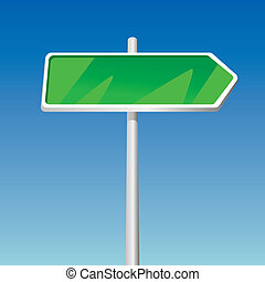 Signpost illustration