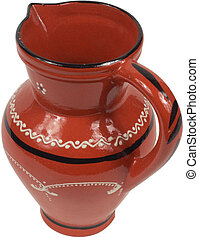 Antique Red jug