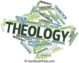 palabra, nube, teología