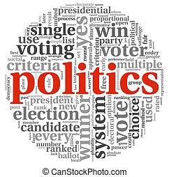 投票, 概念,  plitics