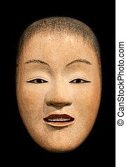 Zo Onna beatiful woman Noh mask - Zo Onna beatiful woman...