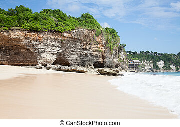 beautiful beach - beautiful balinese Dreamland beach (One of...