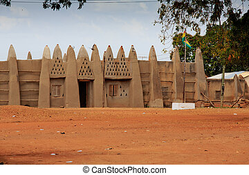 Palace of the Wa Na, in Wa, Ghana