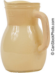 Yellow Antique Pottery jug