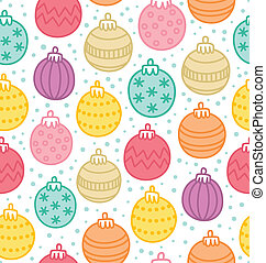 Decorative globes seamless pattern