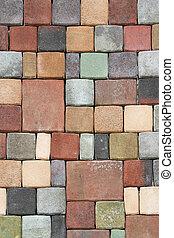 地板, 磚